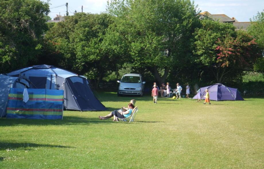 Traditional Camping ,no Glamping!